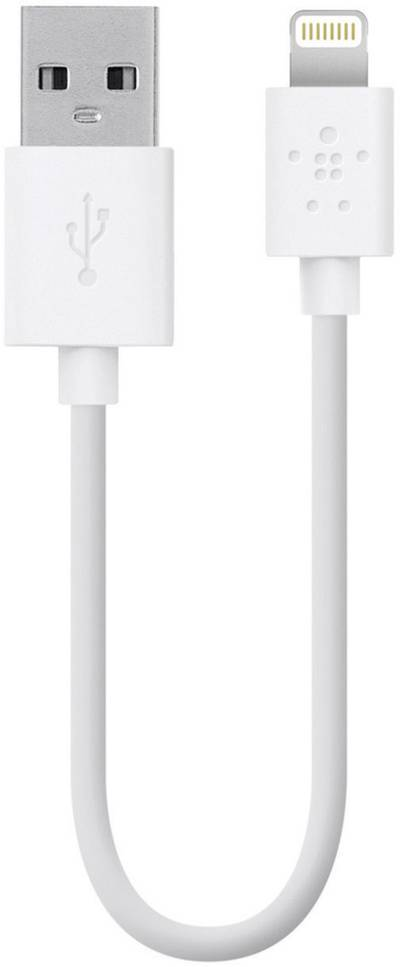 Compare cheap offers & prices of Belkin 15cm Charge And Sync Cable For Apple Lightning White manufactured by Belkin