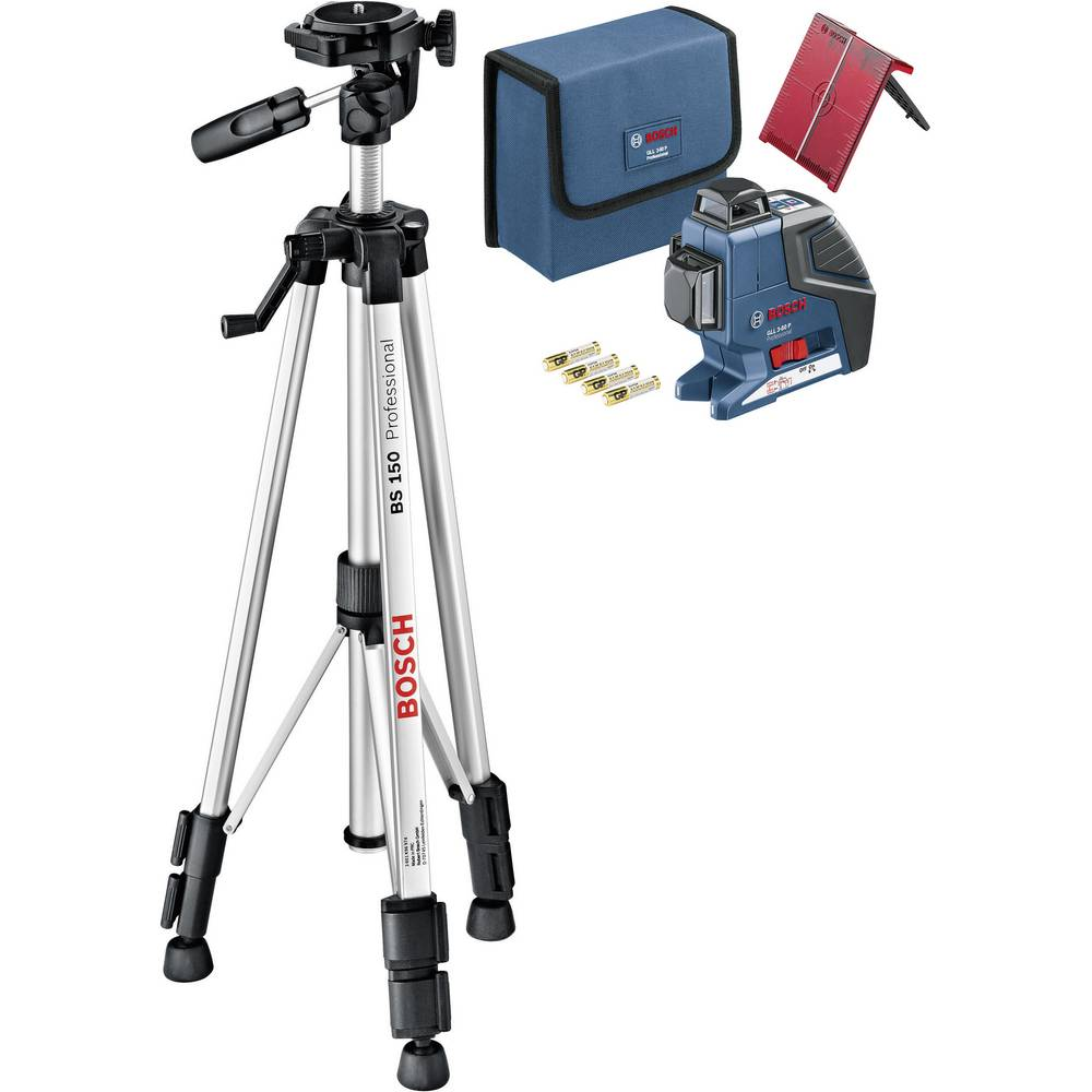 Bosch Bs 150 Compact Professional Tripod For Line Lasers Daftar Laser Lever Cross Level Gll 5 50x Kit Bt150 Multi Self Levelling 3 80 P Bt