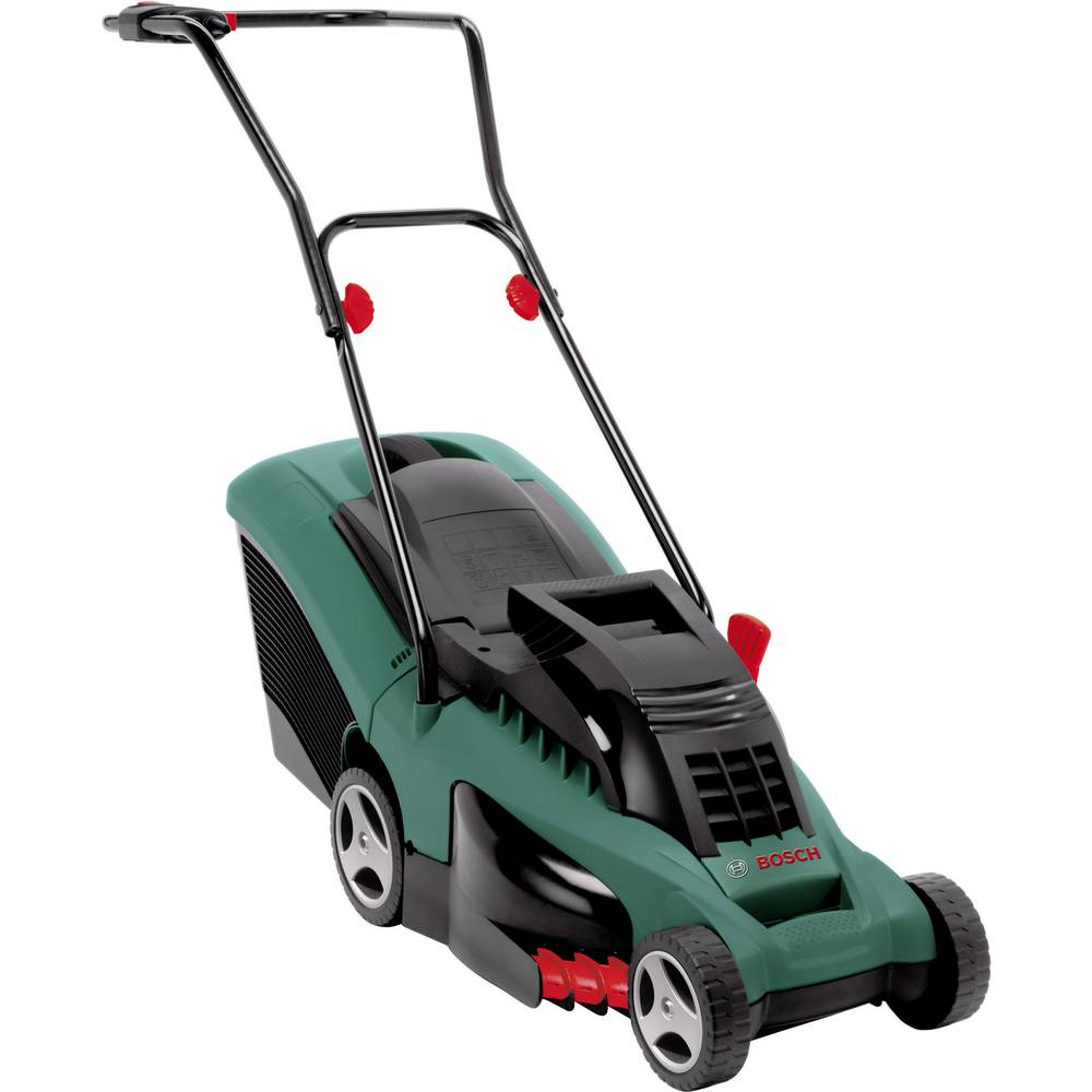 bosch rotak 37 electric lawn mower from conrad electronic uk