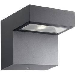LED-udendørs vægbelysning Philips Lighting Riverside 1 W 300 lm Varm hvid Antracit