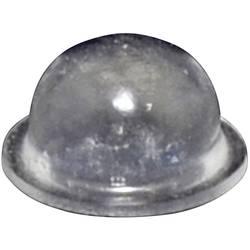Chassisfod TOOLCRAFT PD2055C Selvklæbende, Rund Transparent (Ø x H) 9.6 mm x 5.4 mm 1 stk