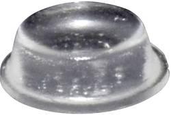 Chassisfod TOOLCRAFT PD2014C Selvklæbende, Rund Transparent (Ø x H) 14 mm x 4.5 mm 1 stk