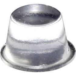 Chassisfod TOOLCRAFT PD2164C Selvklæbende, Rund Transparent (Ø x H) 16.5 mm x 10.2 mm 1 stk