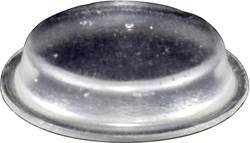 Chassisfod TOOLCRAFT PD2024C Selvklæbende, Rund Transparent (Ø x H) 19 mm x 4 mm 1 stk