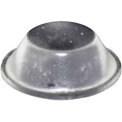 Chassisfod TOOLCRAFT PD2019C Selvklæbende, Rund Transparent (Ø x H) 19 mm x 6 mm 1 stk