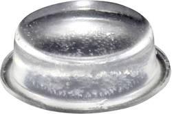 Chassisfod TOOLCRAFT PD2020C Selvklæbende, Rund Transparent (Ø x H) 20 mm x 6.2 mm 1 stk