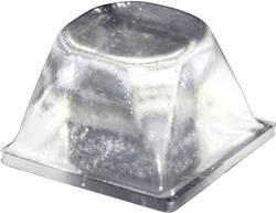 Chassisfod TOOLCRAFT PD3206C Selvklæbende, Rund Transparent (Ø x H) 20.5 mm x 13.2 mm 1 stk