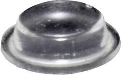 Chassisfod TOOLCRAFT PD9125C Selvklæbende, Cylindrisk Transparent (Ø x H) 12.7 mm x 3.5 mm 1 stk