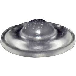 Chassisfod TOOLCRAFT PD9931C Selvklæbende, Cylindrisk Transparent (Ø x H) 10 mm x 3.1 mm 1 stk