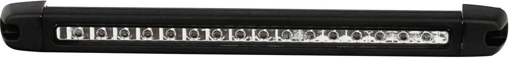 Zavorna LED luč SecoRüt, za površinsko pritrditev, črna, rdeča, bela 12 V 95146