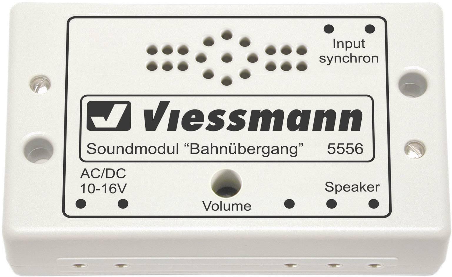 Sound effect Level crossing Prefab component Viessmann 5556