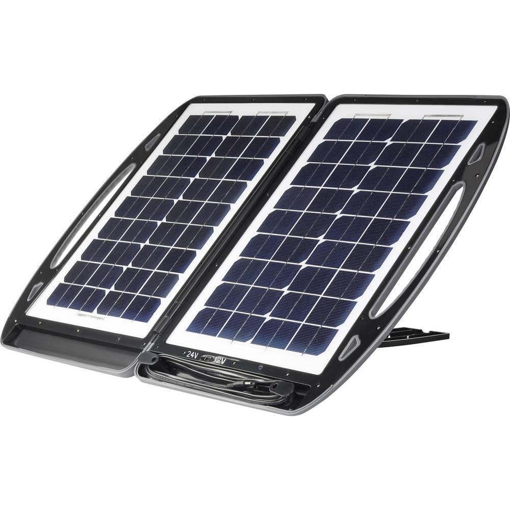 Solar-Batterieschutz Polykrystallinsk solcelle, i kuffert 12 V, 24 V TPS- 936N-M