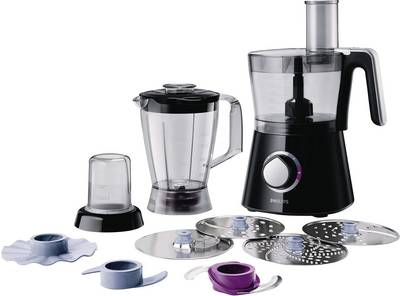 Philips HR7762/90 Viva Collection Food processor 750 W Black