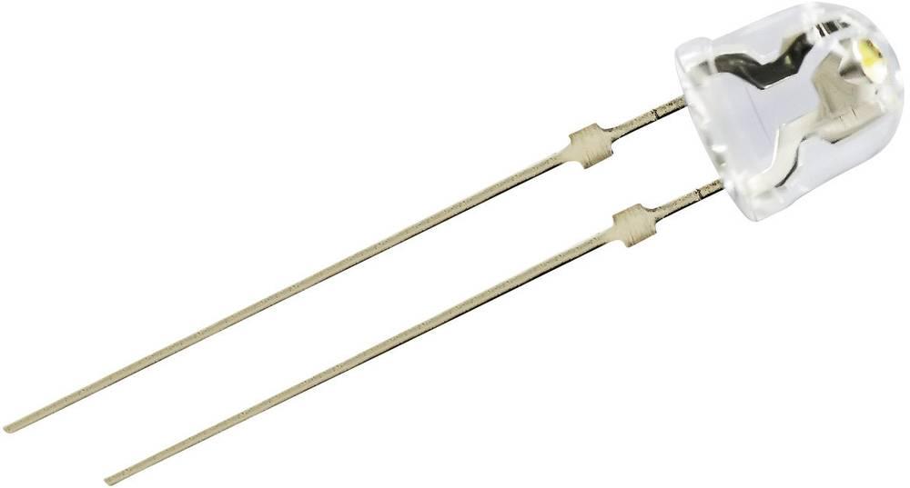Ožičena LED dioda, topla bela, okrogla 5 mm 140 ° 70 mA 3.4 V Nichia NSDL570GS-K1