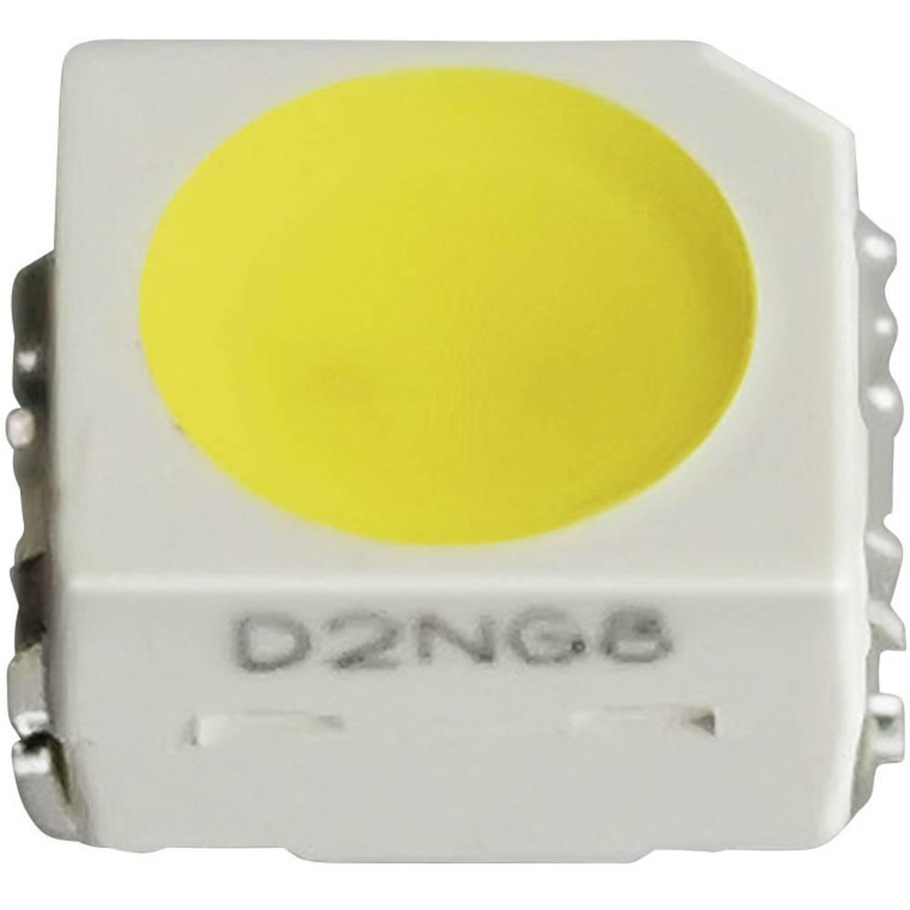 SMD-LED PLCC2 jantarjeva 690 mcd 115 ° 20 mA 3.1 V Nichia NESA064T