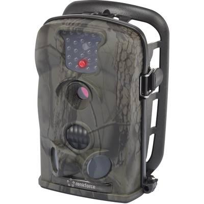 Renkforce IR12MP Wildlife camera 12 MPix Black LEDs Camouflage