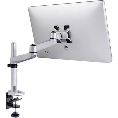 SpeaKa Professional Super Swivel Apple monitor holder, table mounting with grommet- and C-terminal
