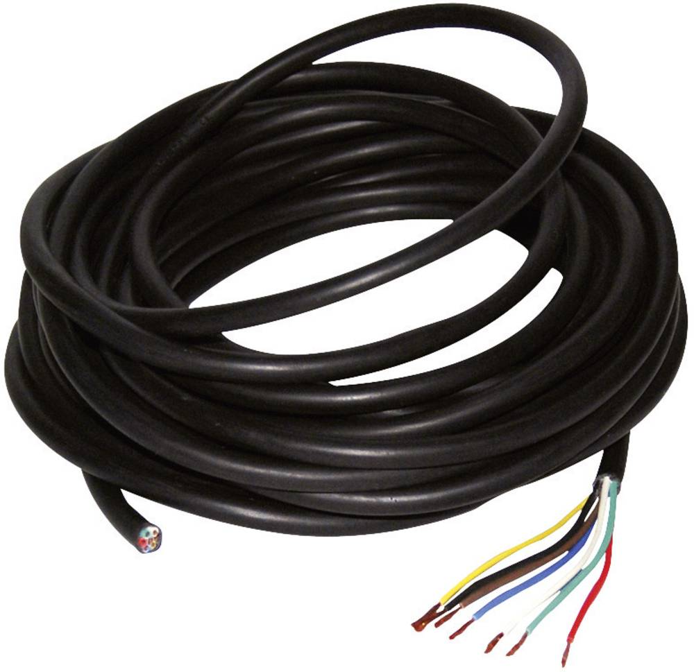 LAS Napajalni kabel za avtomobilske priklopnike 7-žilni 0,75mm2 10 m 10262