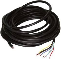 Kabel öppna kabeländar Antal trådar 7 Kabellängd=10 m LAS