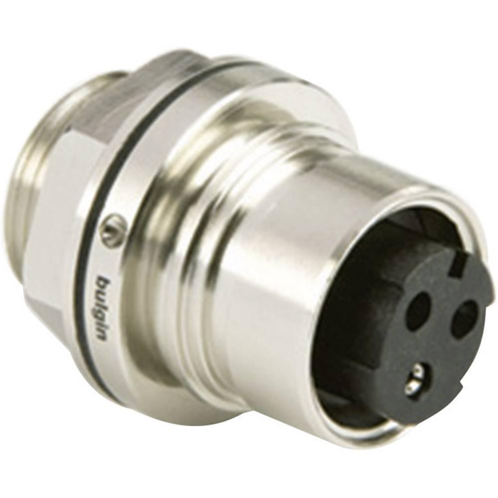 Spredaj montiran vtični konektor, poli: 8 PXM6012/08S/CR ESKA Bulgin vsebuje: 1 kos