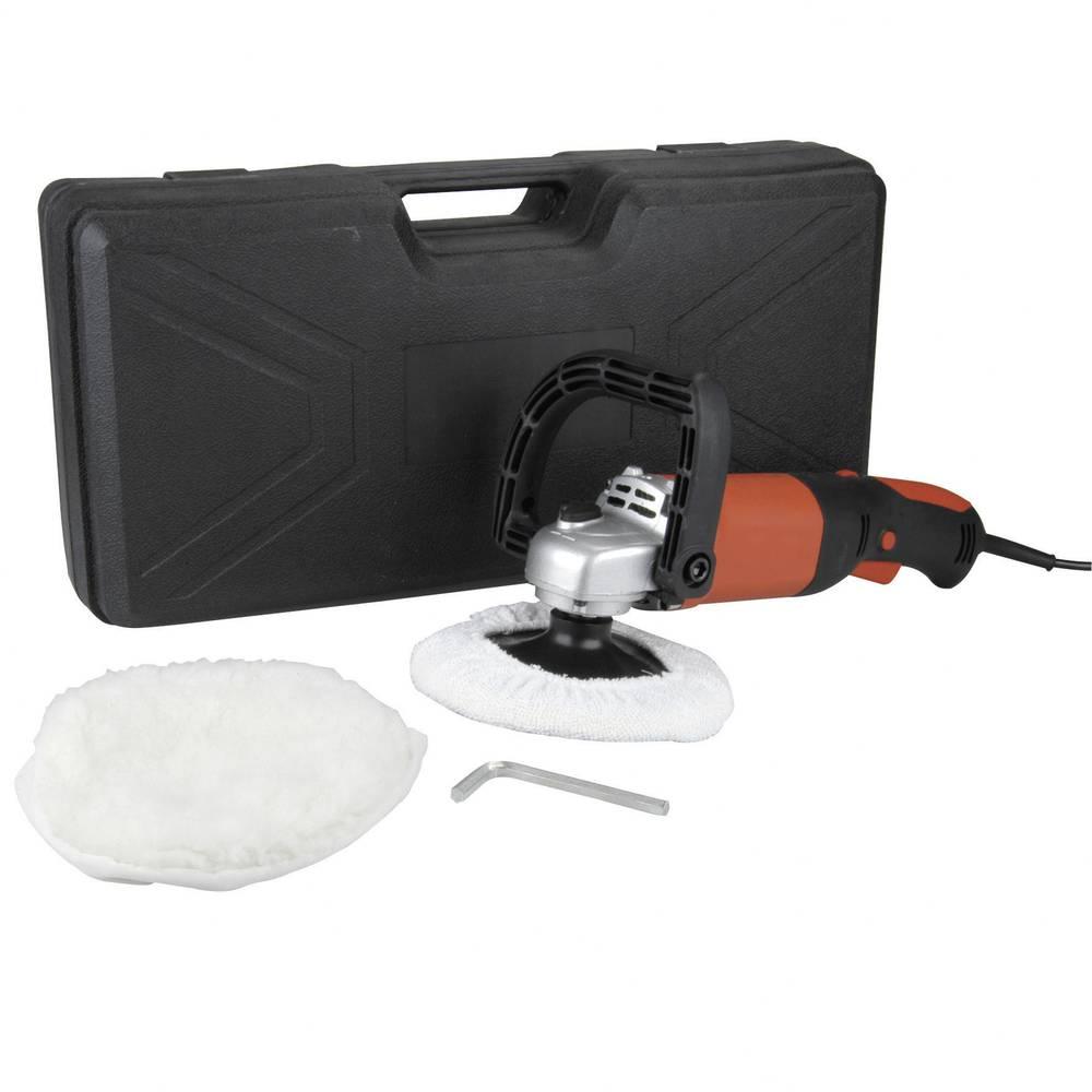 Stroj za poliranje u koferu, 500-3.000 vrtljaja/min, 180 mm 72126