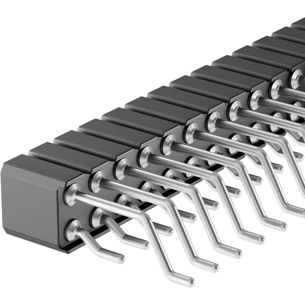 Bøsningsliste (præcision) Fischer Elektronik BLY 9 SMD/ 40 1 stk