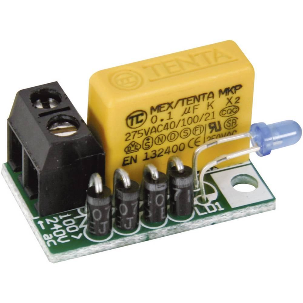 Velleman Mk181 Led Assembly Kit Version 110 V Ac 240 Capacitor Circuit