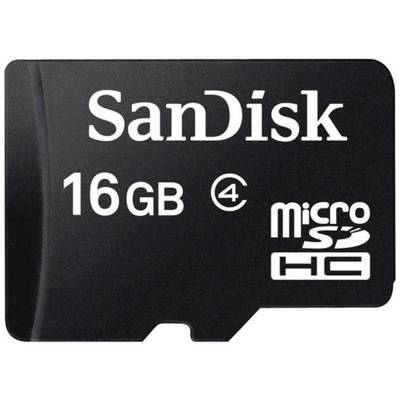 Image of SanDisk SDSDQM-016G-B35 microSDHC card 16 GB Class 4