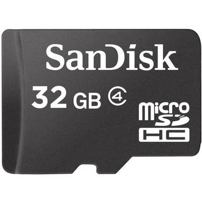 Image of SanDisk 32GB Mobile microSDHC Card