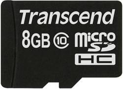 MicroSDHC-kort Transcend Premium Class 10 8 GB