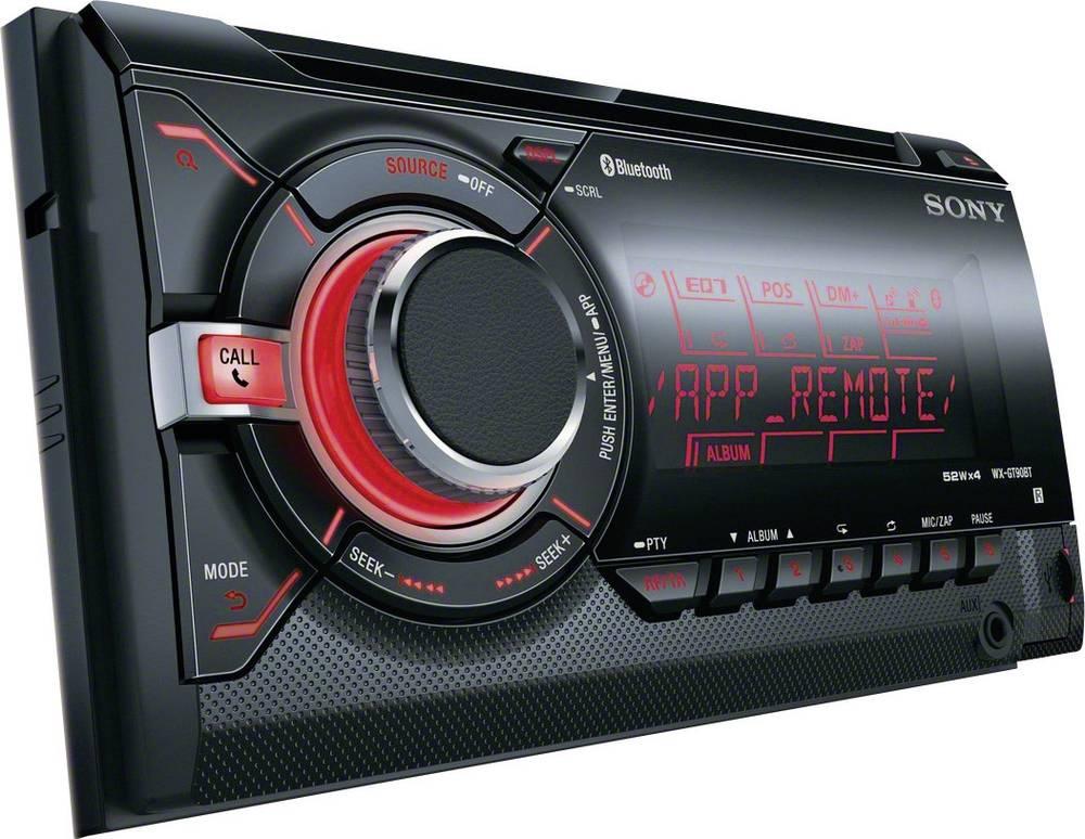 Dobbelt-DIN-bilradio Sony WXGT90BT Håndfrit Bluetooth®-system