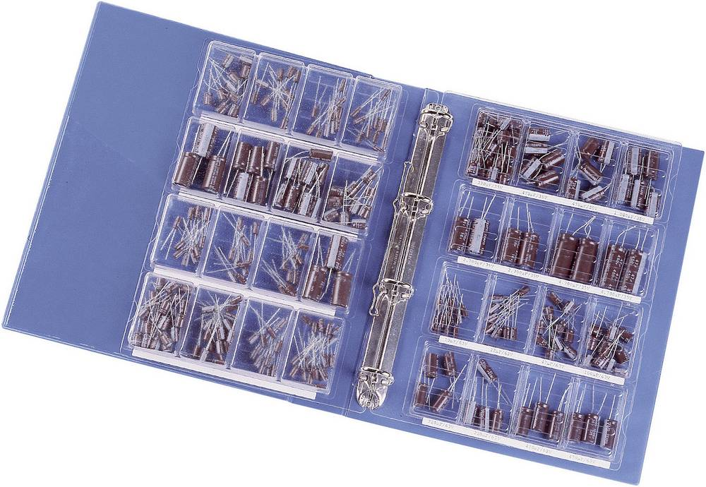 325-dijelni Labor-Elko-komplet- 1 - 4700F 16 - 63 V