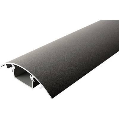Image of Alunovo RO90-100 Cable duct (L x W x H) 1000 x 80 x 20 mm 1 pc(s) Raw iron (matt)