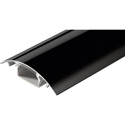 Image of Alunovo SC90-100 Cable duct (L x W x H) 1000 x 80 x 20 mm 1 pc(s) Black (glossy)