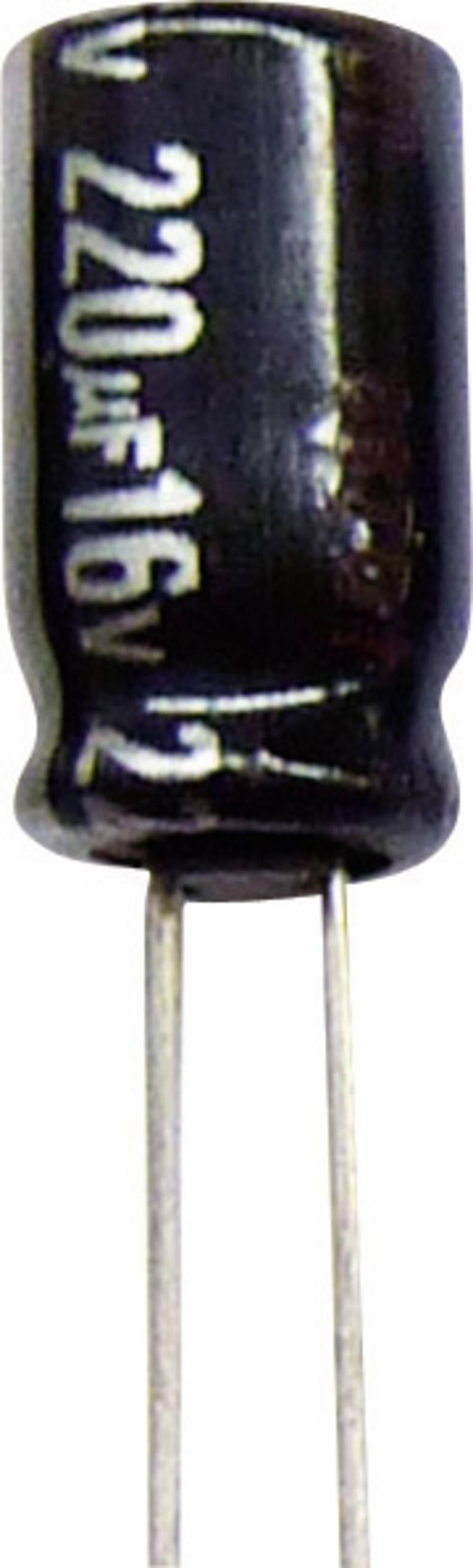 Panasonic Radijalni kondenzator NHG ECA1CHG101I (OxV) 5 mm x11 mm raster 2.5 mm 100F 16 V