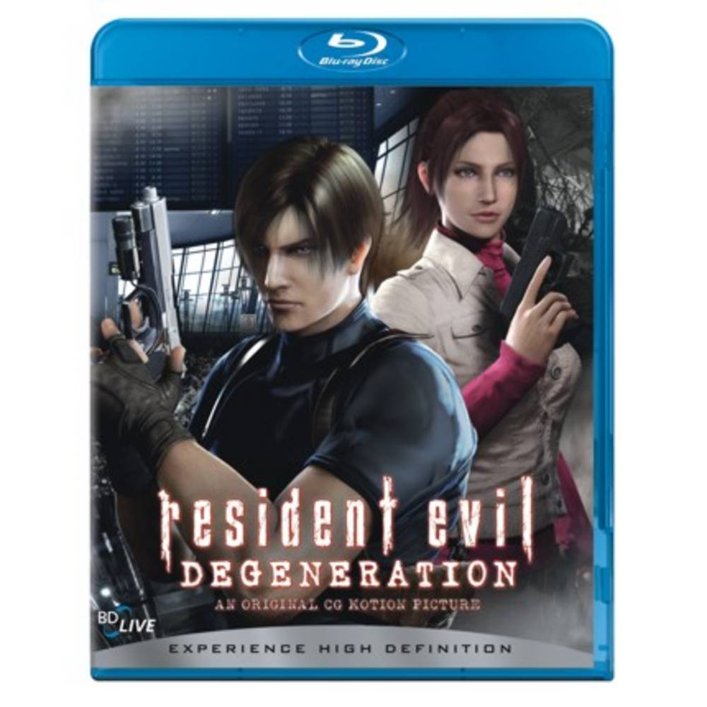 resident evil degeneration full movie english
