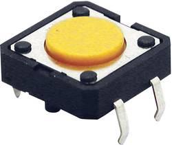 Trykknap Omron B3F4000 24 V/DC 0.05 A 1 x Off/(On) 1 stk