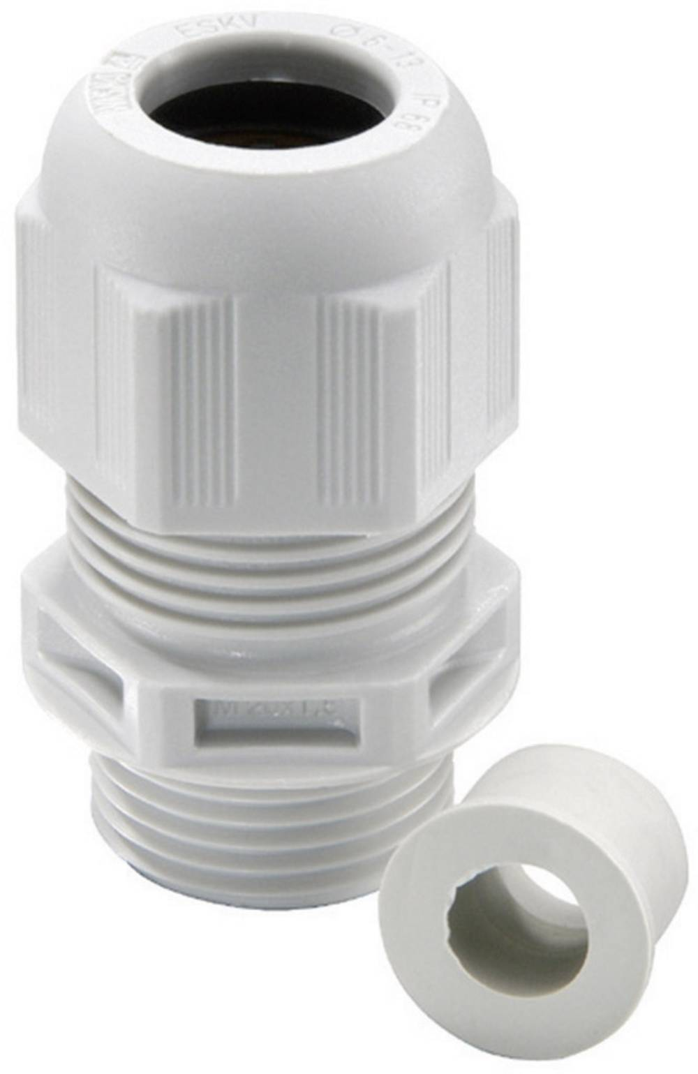 Kabelska uvodnica M20 poliamid, svetlo sive barve (RAL 7035) Wiska ESKV-RDE 20 50 kosov