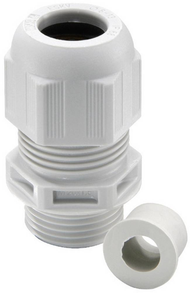Kabelforskruning Wiska ESKV-RDE 50 M50 Polyamid Sølvgrå (RAL 7001) 4 stk
