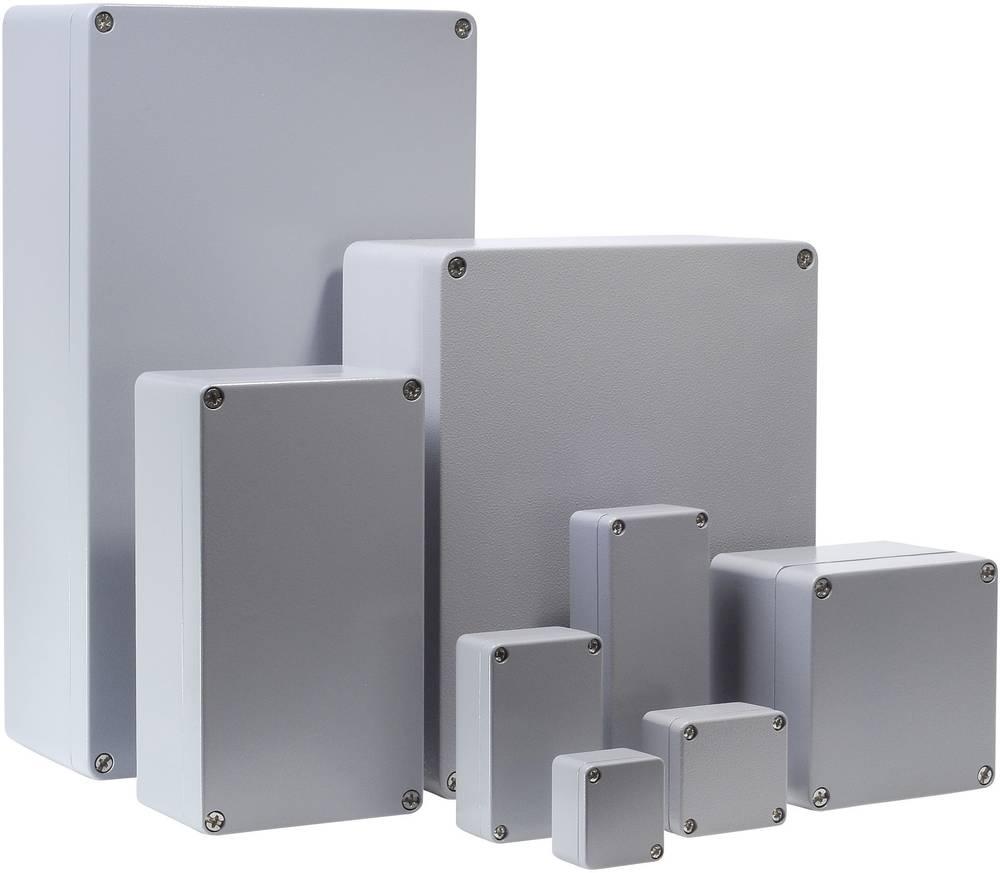 Bernstein AG CA-210-Univerzalno kućište, aluminij, srebrno sivo (RAL 7001), 122x122x80mm 1210000000