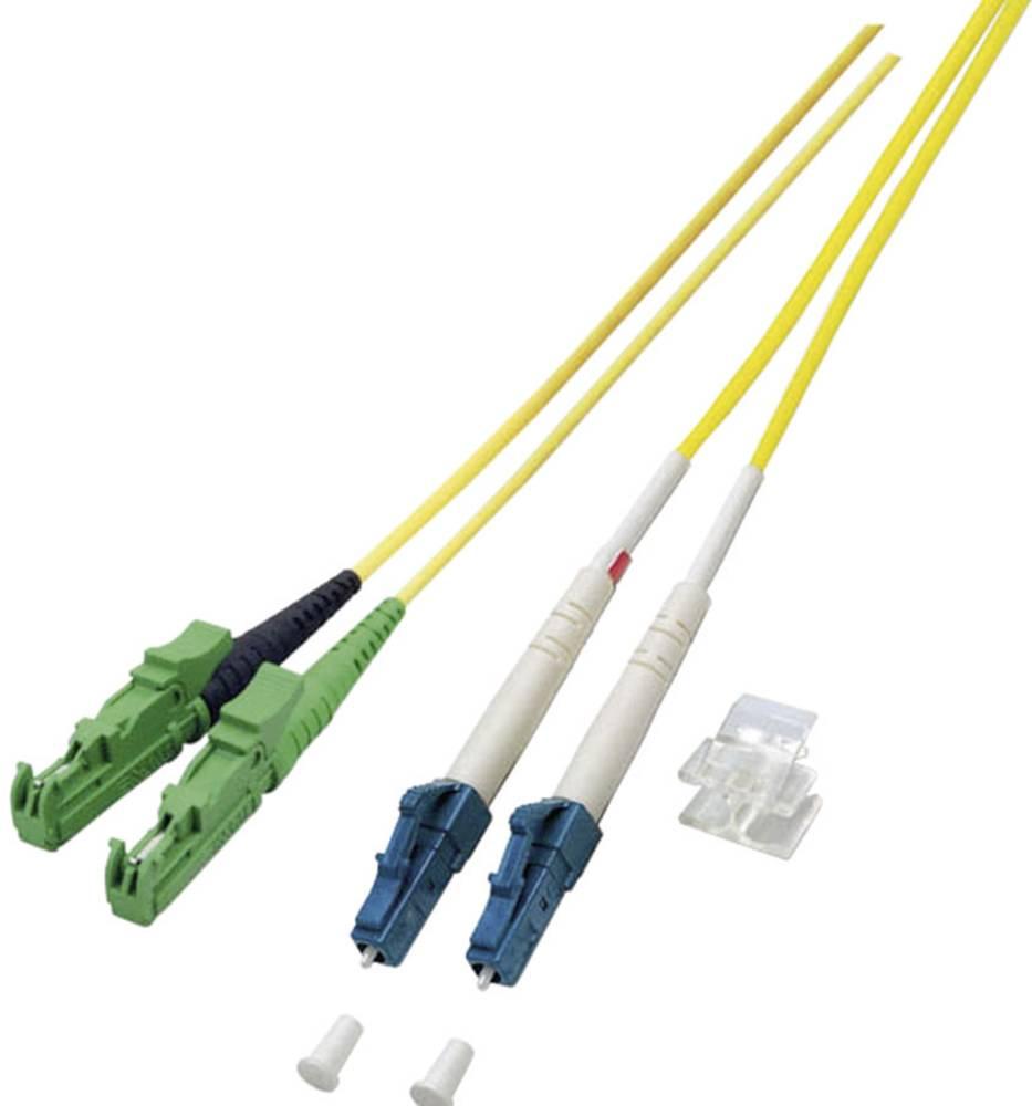 Optični priključni kabel [1x E2000®/APC 8° vtič - 1x LC vtič] 9/125µ Singlemode OS2 5 m EFB Elektronik