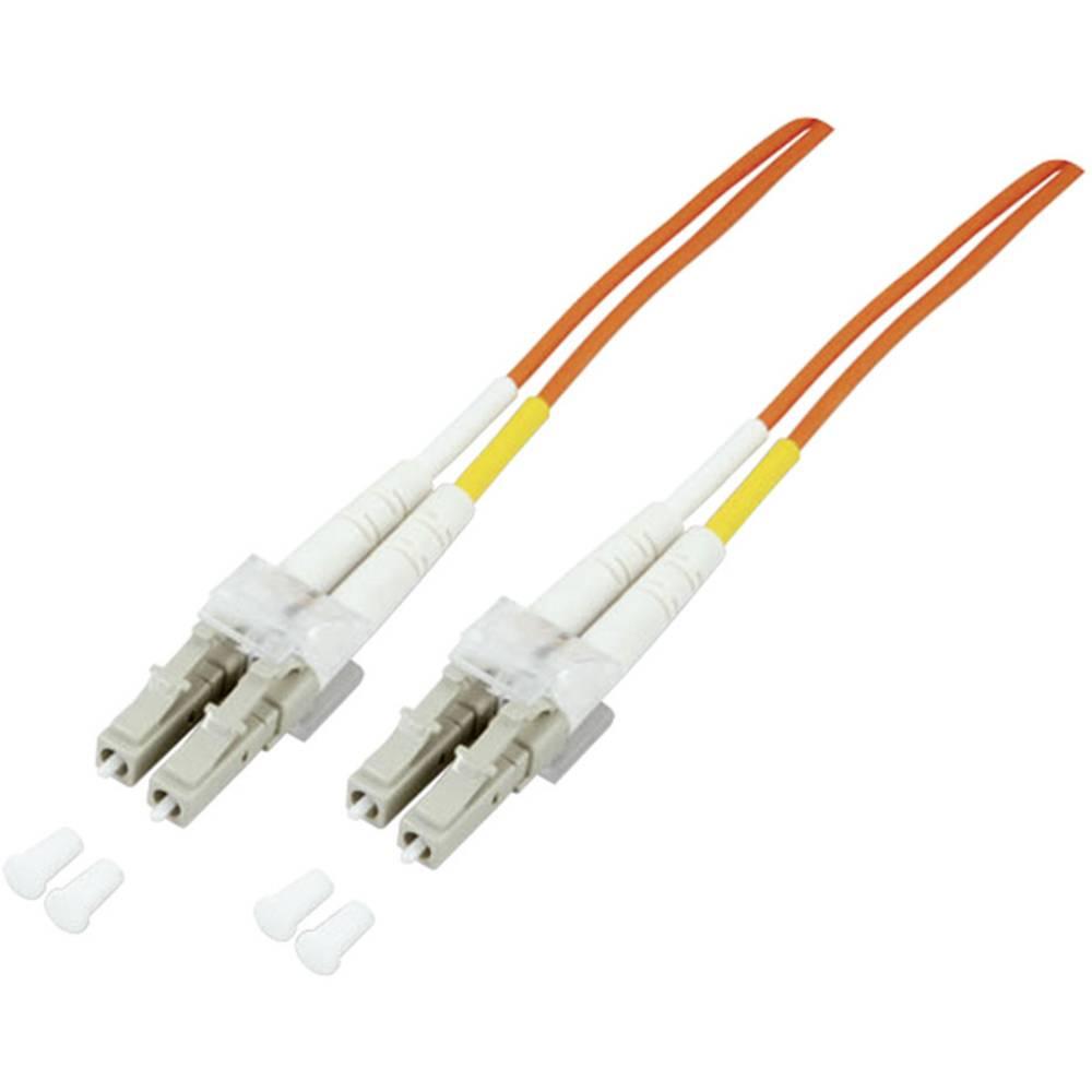 Optički kabel EFB Elektronik [1x LC utikač - 1x LC utikač] 50/125µ Multimode OM3 10 m