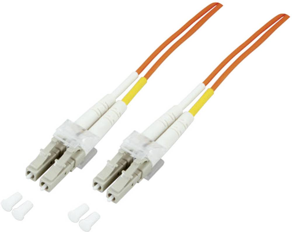 Optični priključni kabel [1x LC vtič - 1x LC vtič] 50/125µ Multimode OM3 5 m EFB Elektronik
