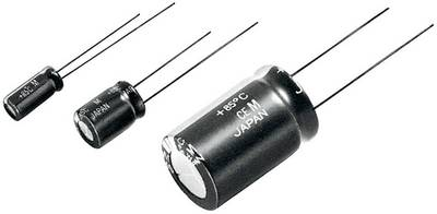 Compare prices for Panasonic ECA0JM222 Electrolytic capacitor Radial lead 5 mm 2200 6.3 V 20 x L 10 mm x 16 mm 1 pcs