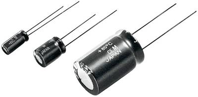 Compare prices for Panasonic ECA0JHG471I Electrolytic capacitor Radial lead 2.5 mm 470 µF 6.3 V 20 Ø x L 6.3 mm x 11.2 mm 1 pcs