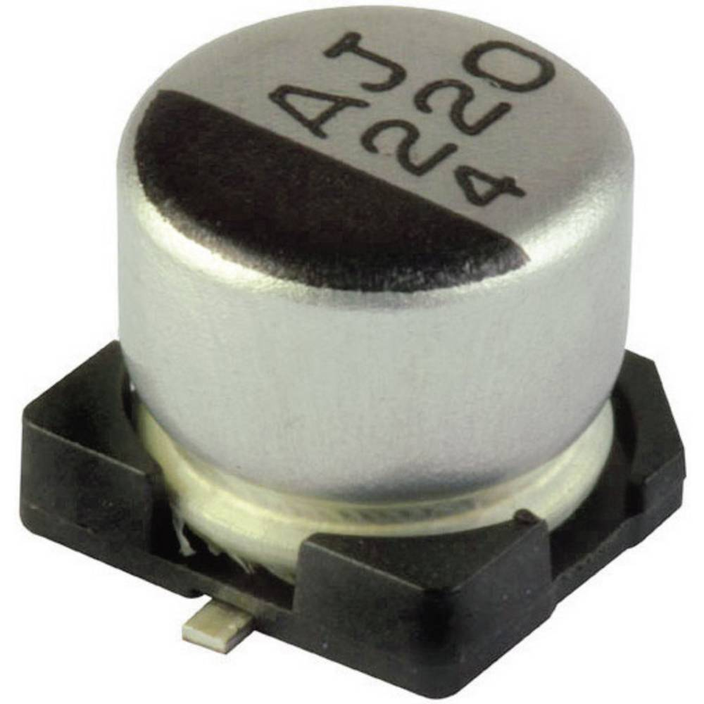 Yageo Minijaturni elektrolitski kondenzator CB050M2R20RSB-0405 50 V 2.2F