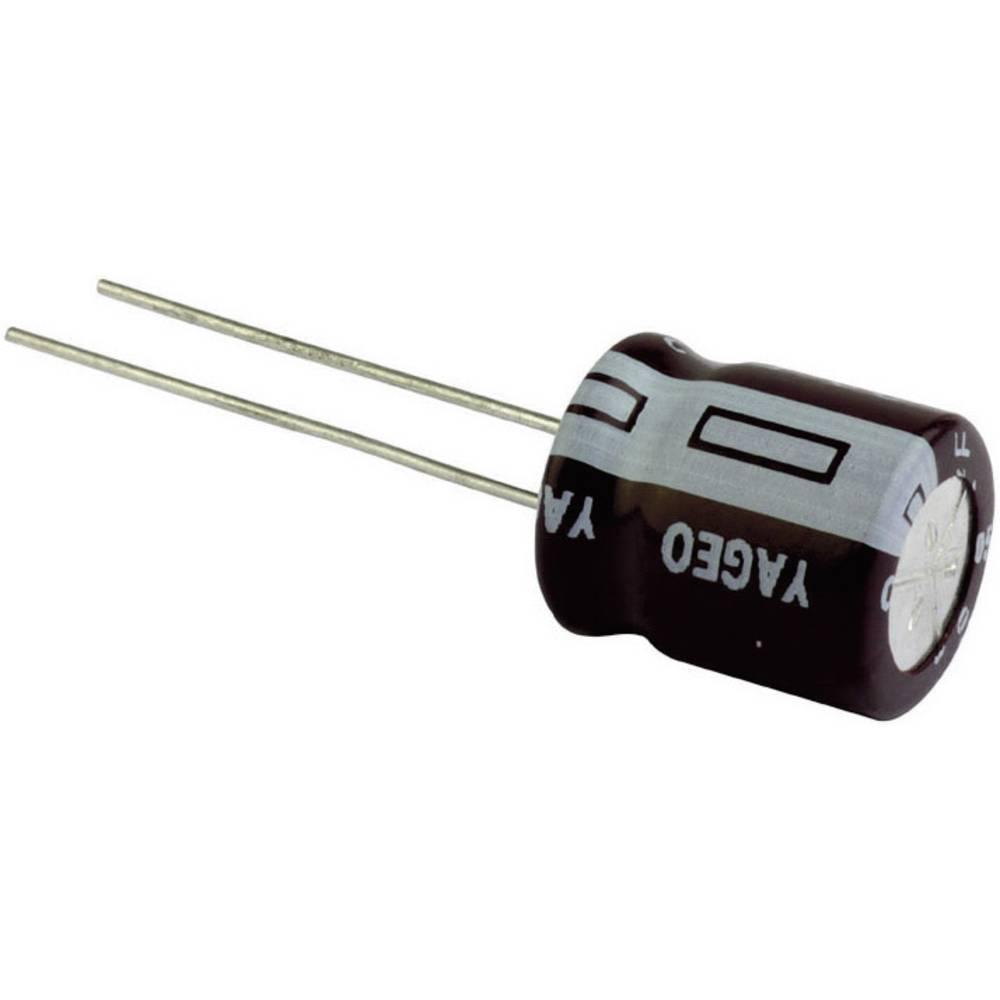 Yageo standardni elektrol. kondenzator SE025M0100AZF-0611 (OxV) 6 mm x 11 mm raster 2, 5 mm