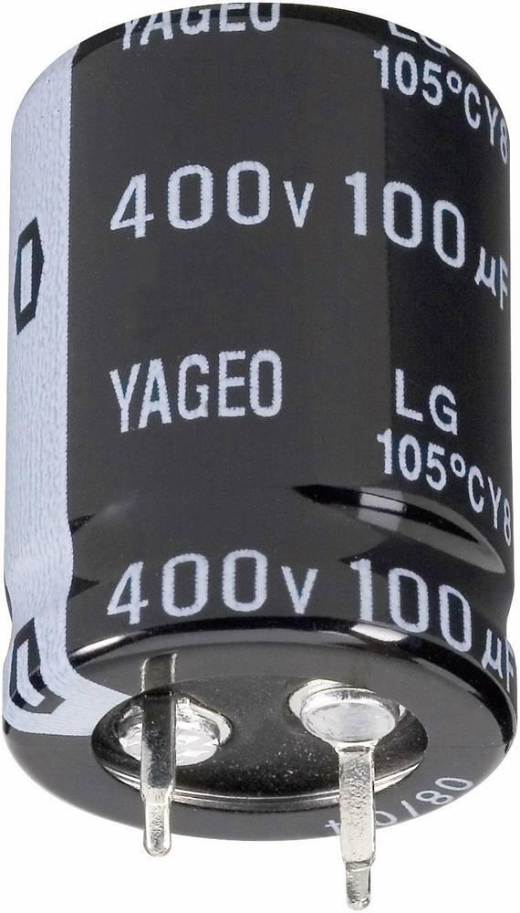 Yageo Zaskočni kondenzator LG050M4700BPF-2540 (OxV) 25 mm x 40 mm 4700F 50 V