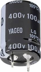 Elektrolyt-kondensator SnapIn 10 mm 220 µF 250 V 20 % (ØxH) 22 mmx30 mm Yageo LG250M0220BPF-2230 1 st