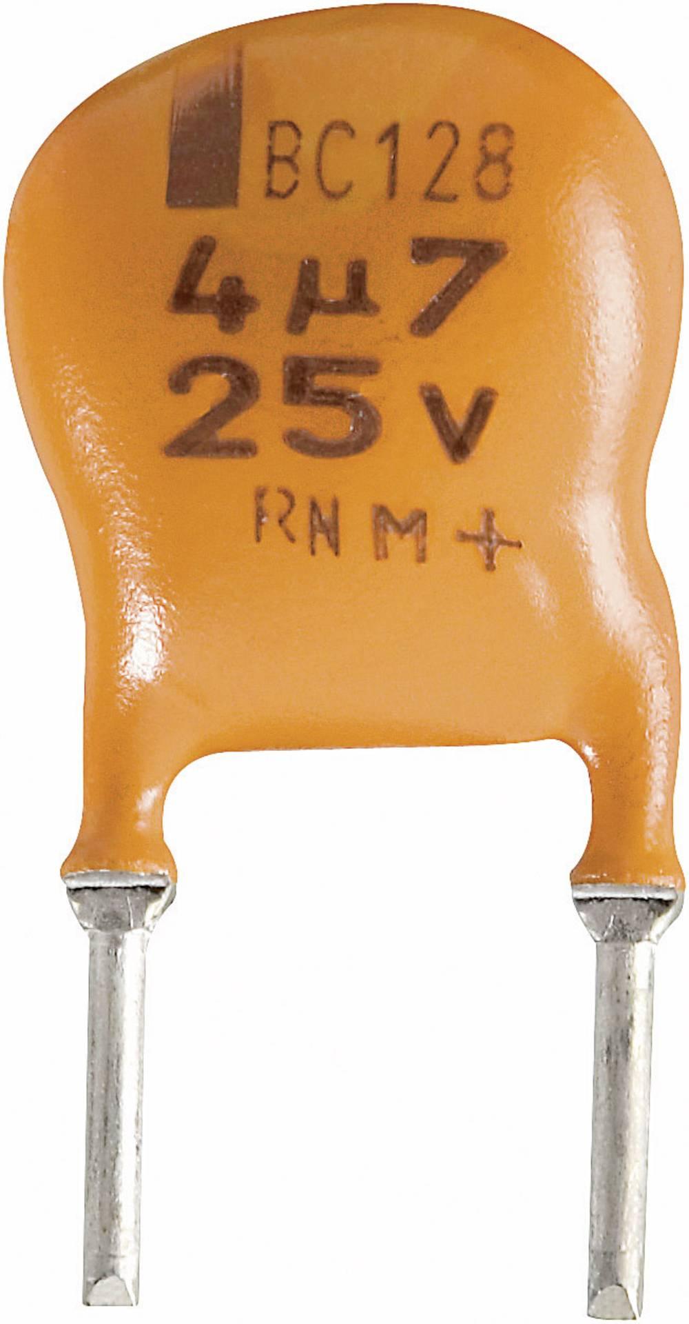 Vishay Radijalni kondenzator 128 2222 128 35228 (OxV) 10 mm x7 mm raster 5 mm 2.2F 16 V